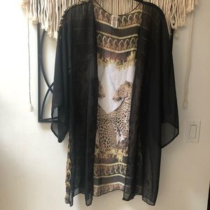 Divine Doll sheer kimono